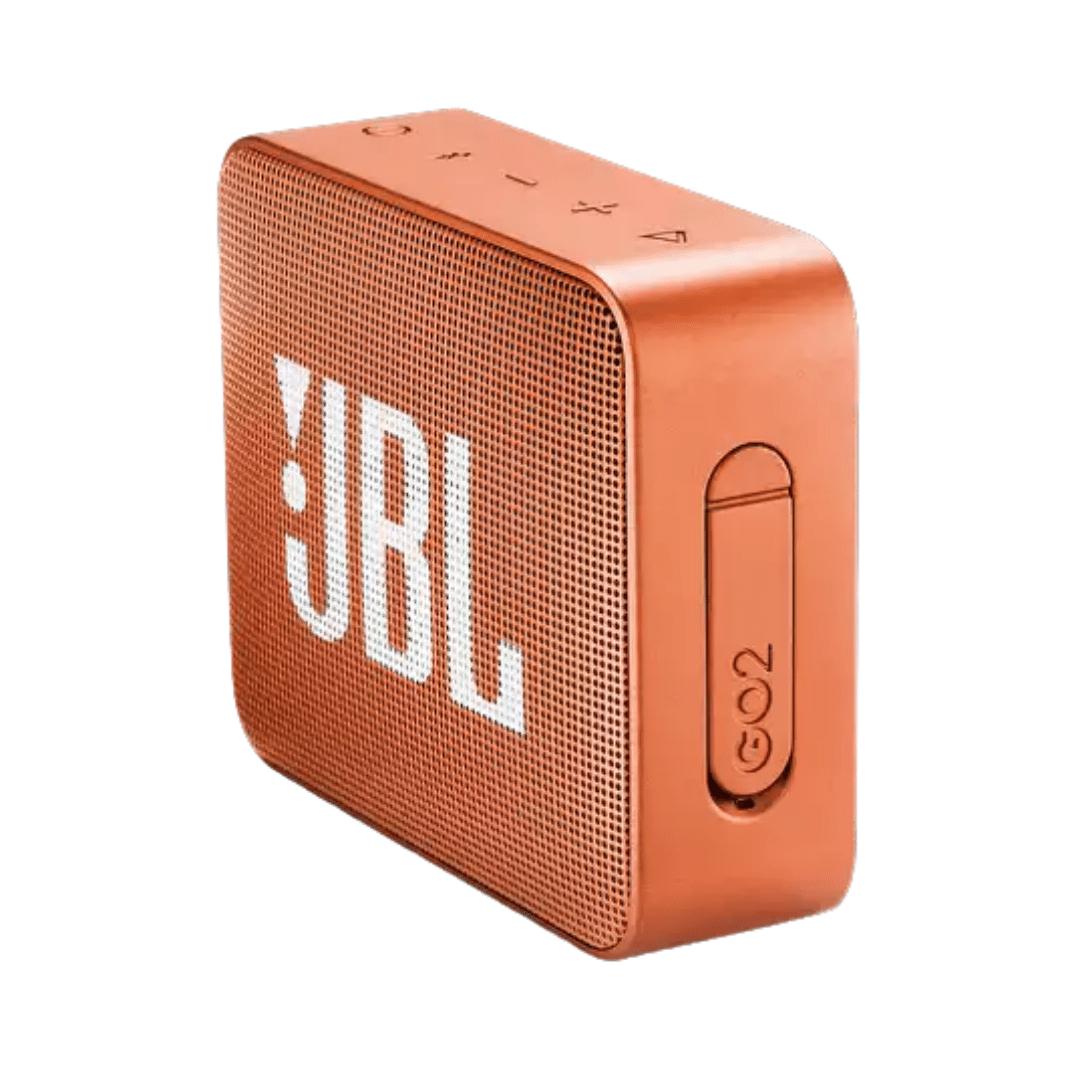 Caixa de Som Bluetooth Portatil JBL GO 2 - Laranja JBLGO2ORG