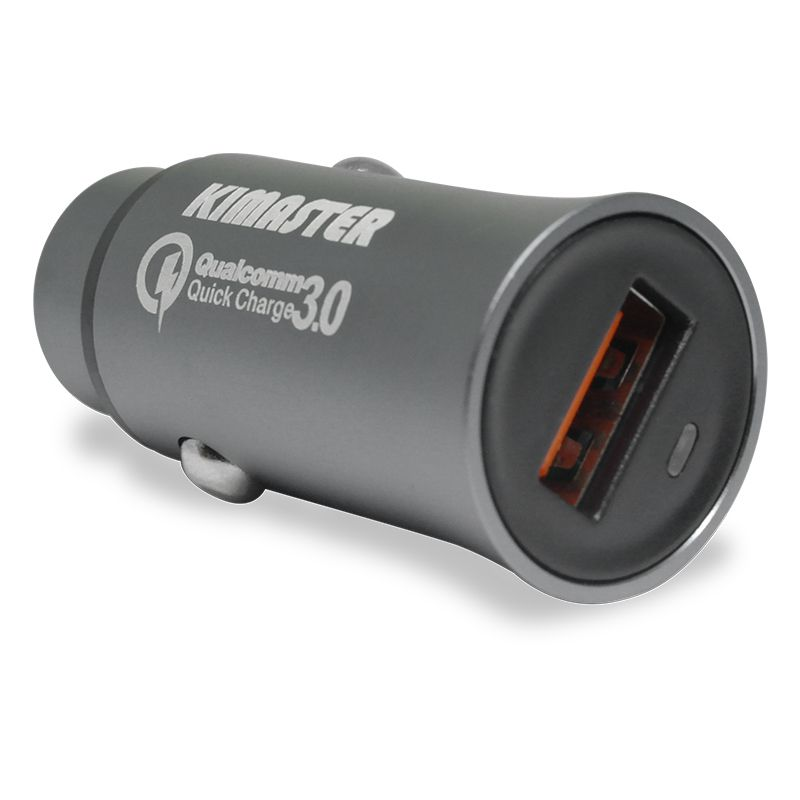 Carregador Veicular Turbo 2.4A Quick Charge 3 Kimaster - CV300