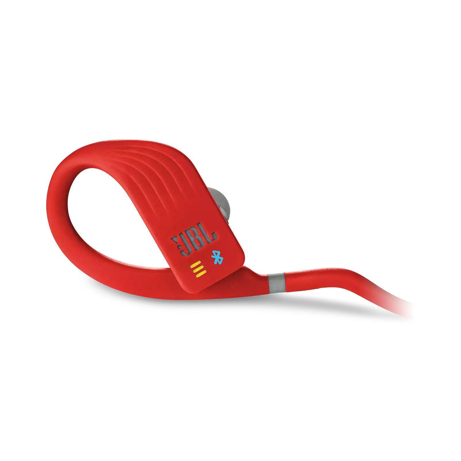 Fone de Ouvido Bluetooth JBL Endurance Dive - Vermelho e Cinza JBLENDURDIVERED