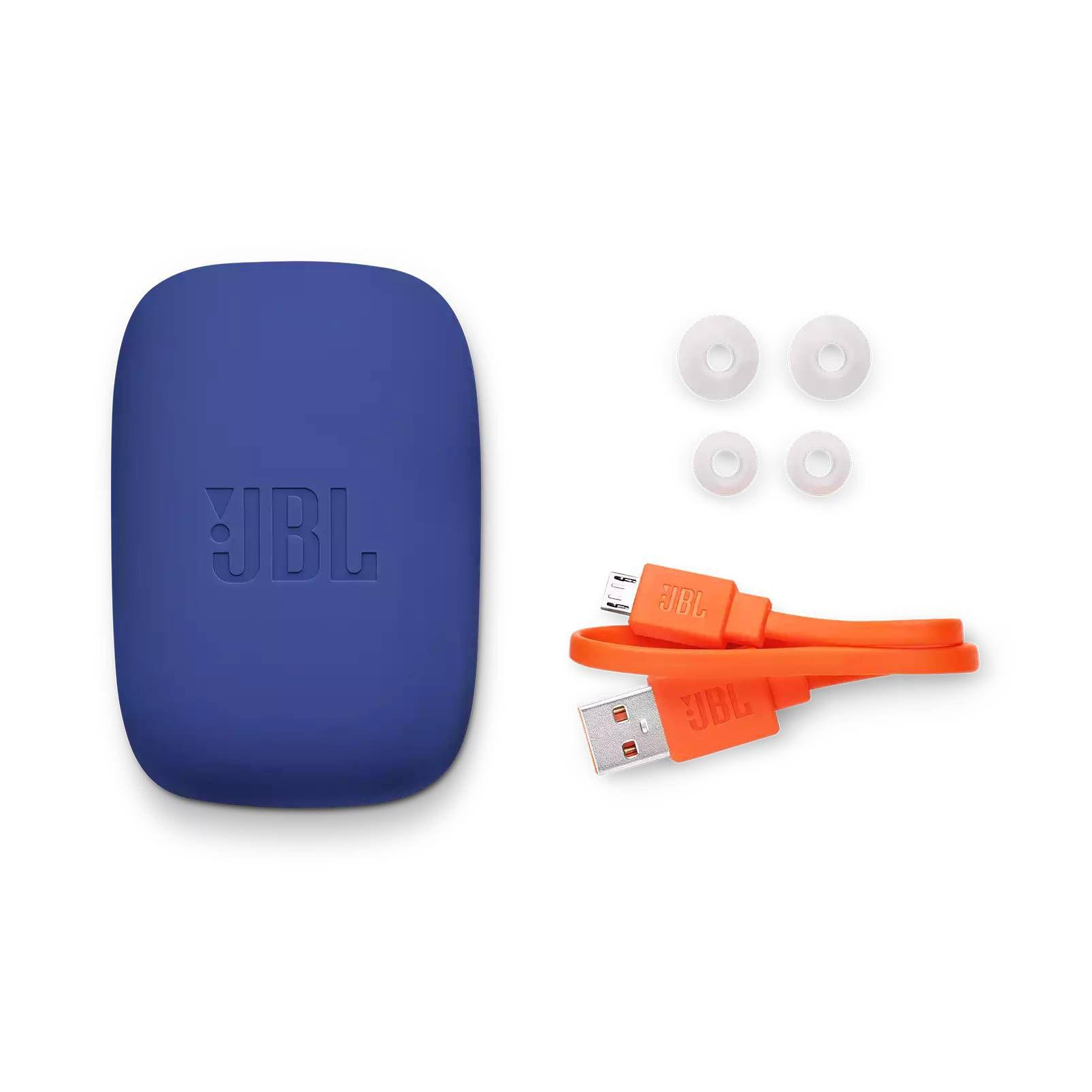 Fone de Ouvido Bluetooth JBL Endurance Jump - Azul e Branco JBLENDURJUMPBLU