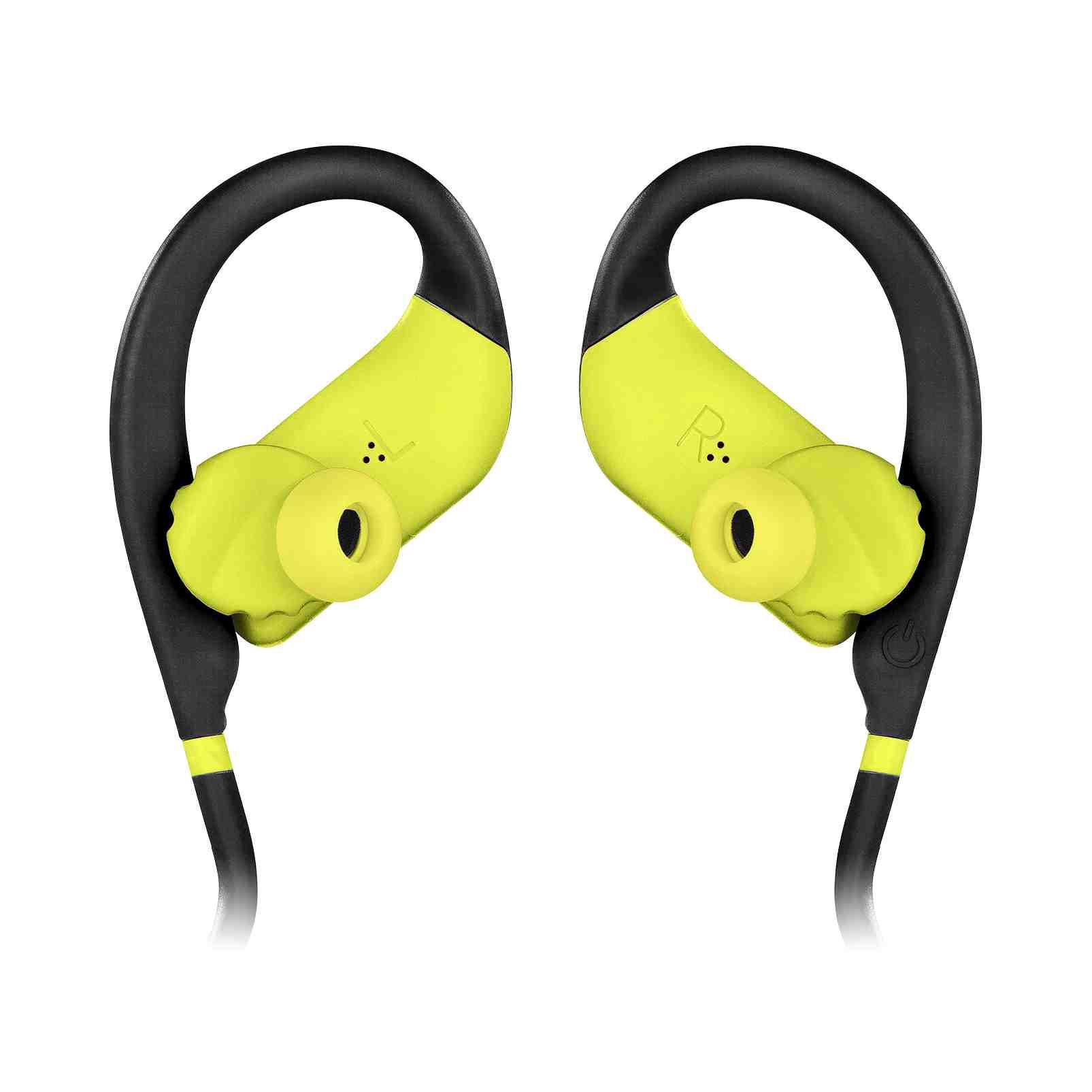 Fone de Ouvido Bluetooth JBL Endurance Jump - Preto e Amarelo JBLENDURJUMPBNL
