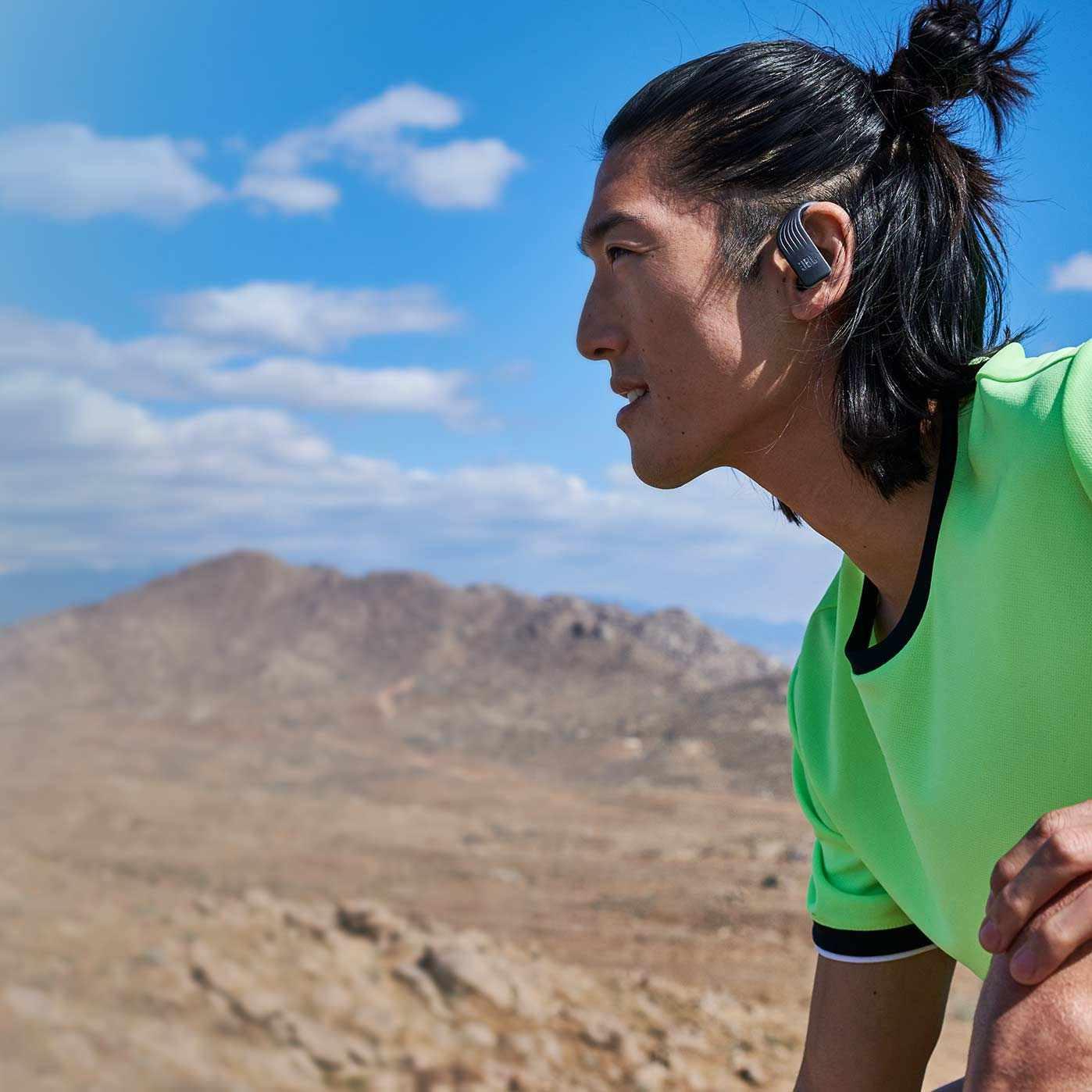 Fone de Ouvido Bluetooth JBL Endurance Peak - Preto JBLENDURPEAKBLK