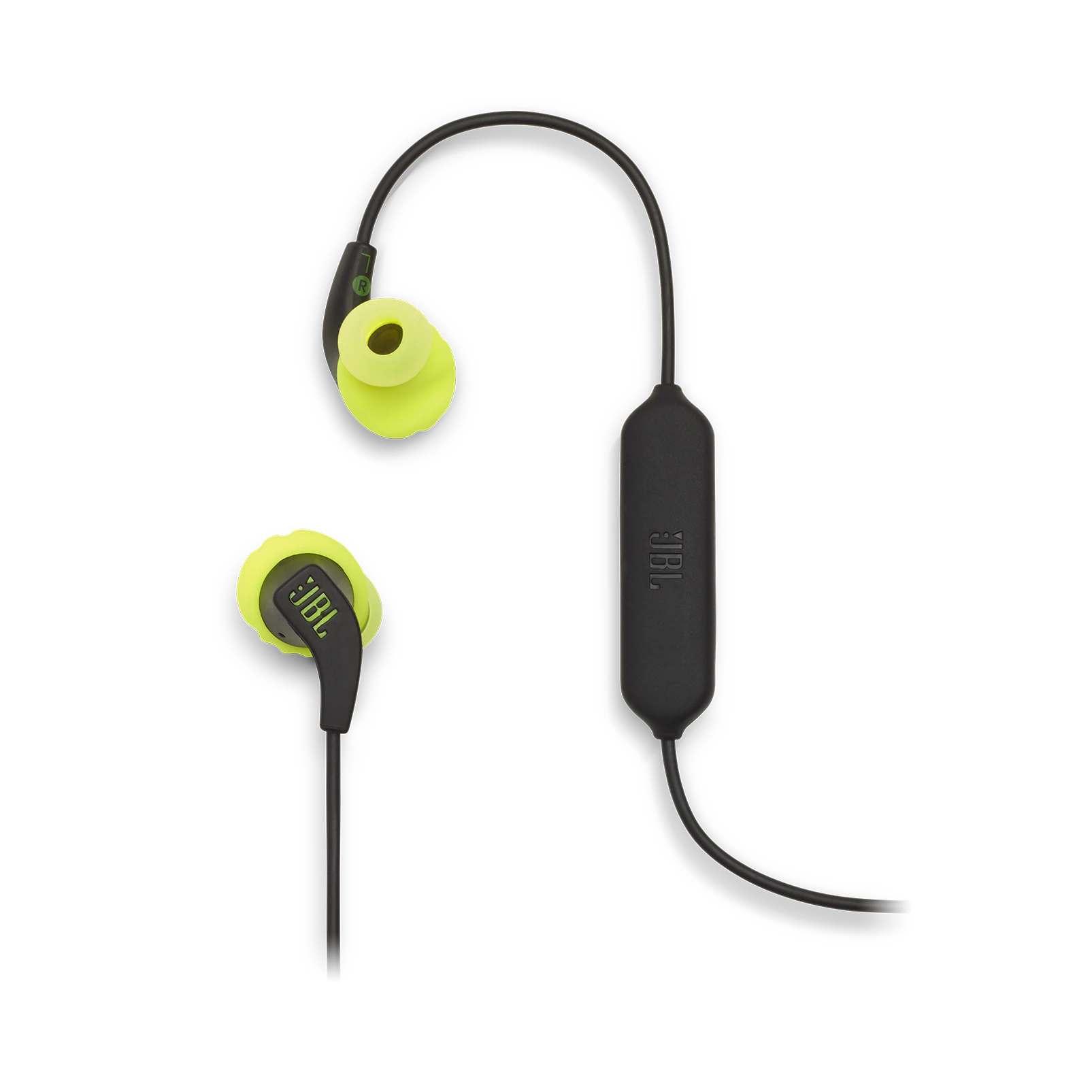 Fone de Ouvido Bluetooth JBL Endurance RUNBT - Preto e Amarelo JBLENDURRUNBTBNL