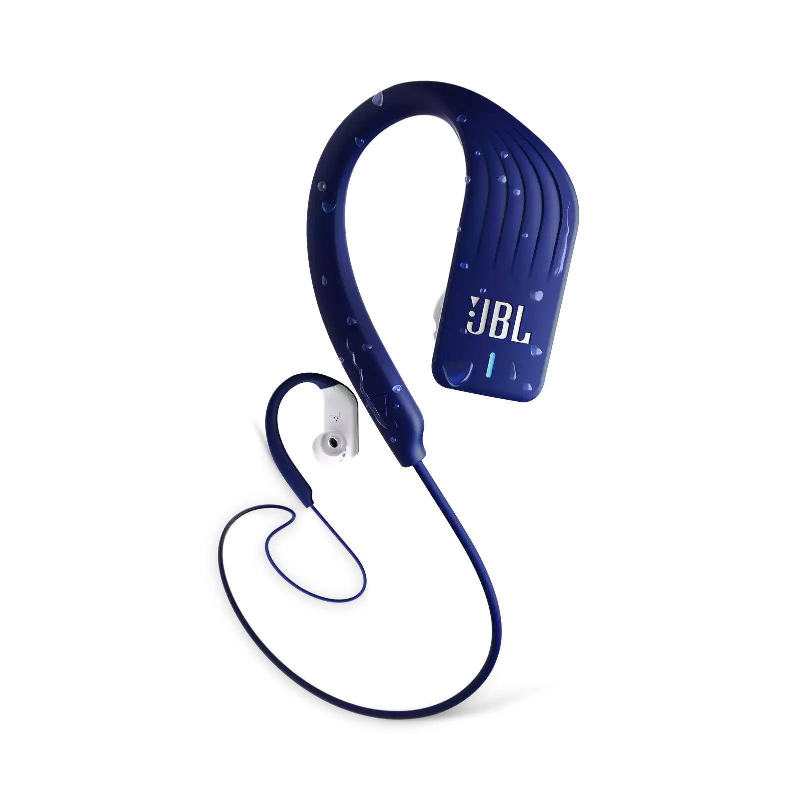 Fone de Ouvido Bluetooth JBL Endurance Sprint - Azul e Branco JBLENDURSPRINTBLU