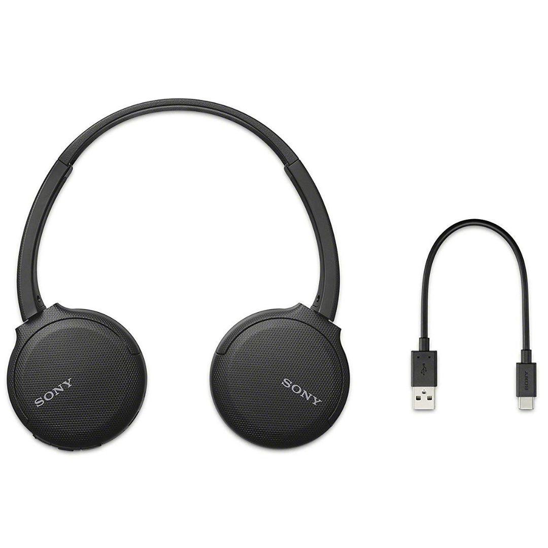 Fone de Ouvido Bluetooth Sony WH-CH510 - Preto