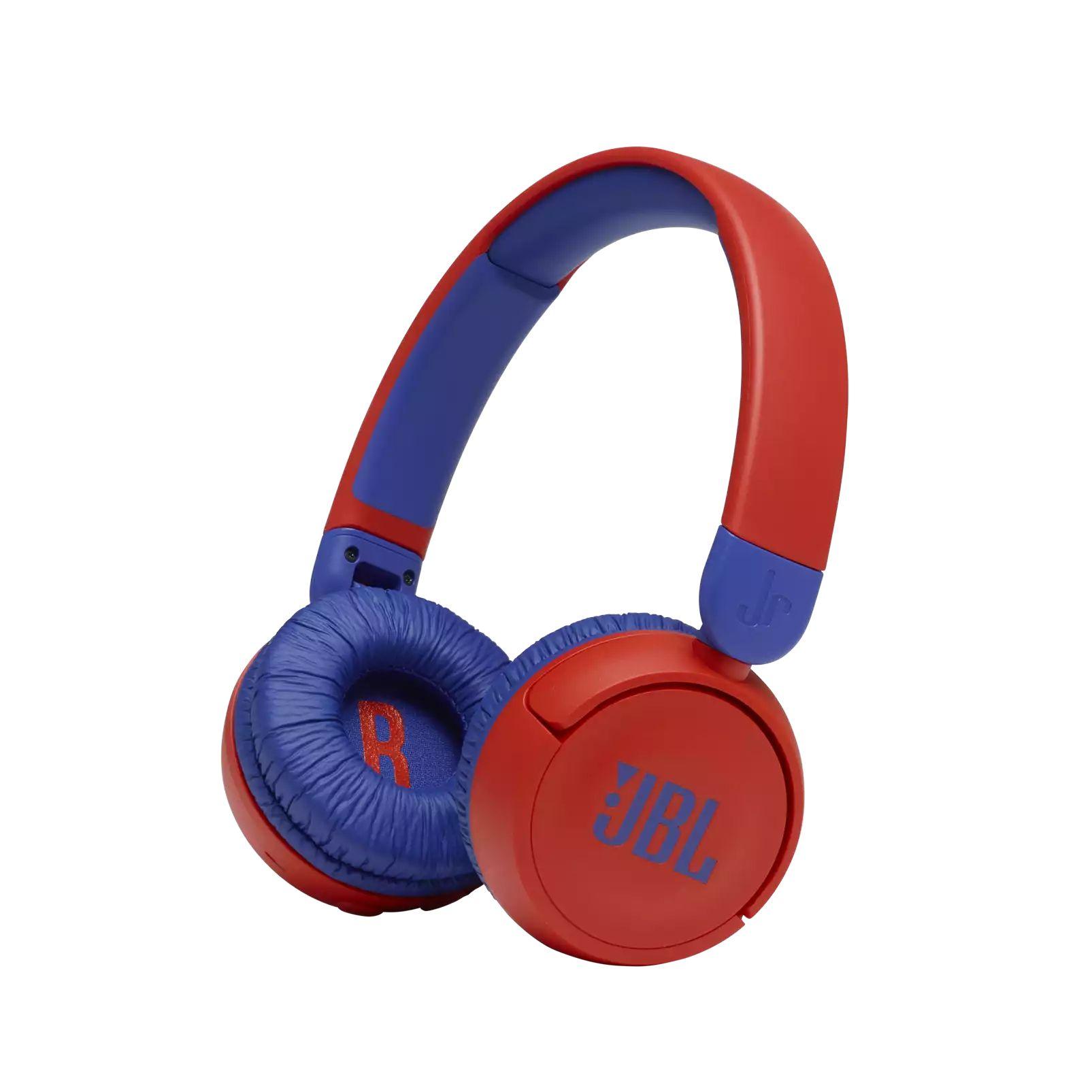 Fone de Ouvido Infantil Bluetooth JBL JR310BT - Vermelho e Azul JBLJR310BTRED