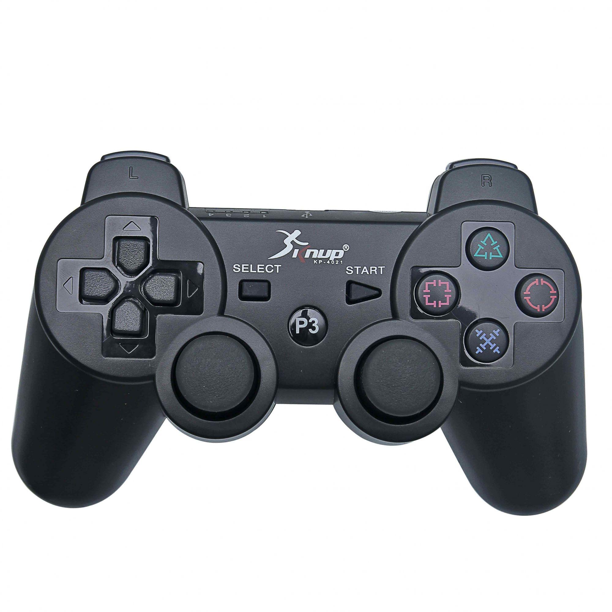 Kit 2 Controles DualShock PS3 Sem Fio