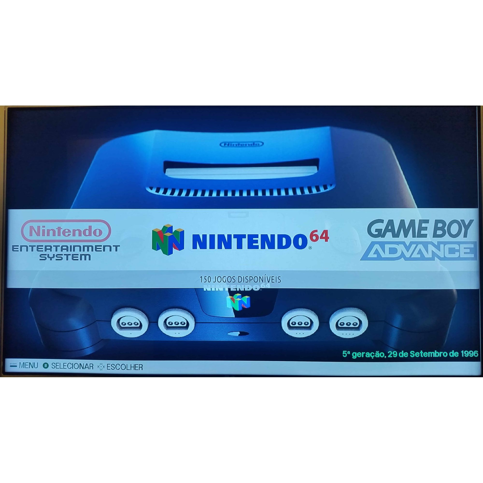 Kit Raspberry Young Play 64GB com 3 Controles