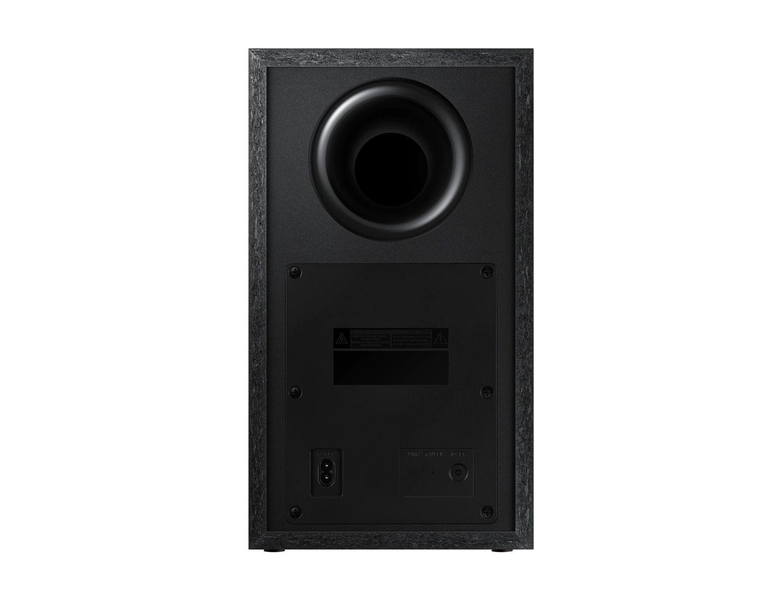 Soundbar Samsung HW-T550 com 2.1 canais, Bluetooth, Subwoofer sem fio e DTS Virtual:X - 320W