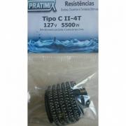 Resistência Para Chuveiros Corona Tipo C 2-4T 127V~ / 5500W