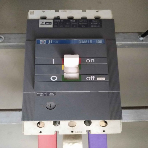 QUADRO DE COMANDO 1200X800X350 E DISJUNTOR DAM1s-400 PAINEL HERMÉTICA.