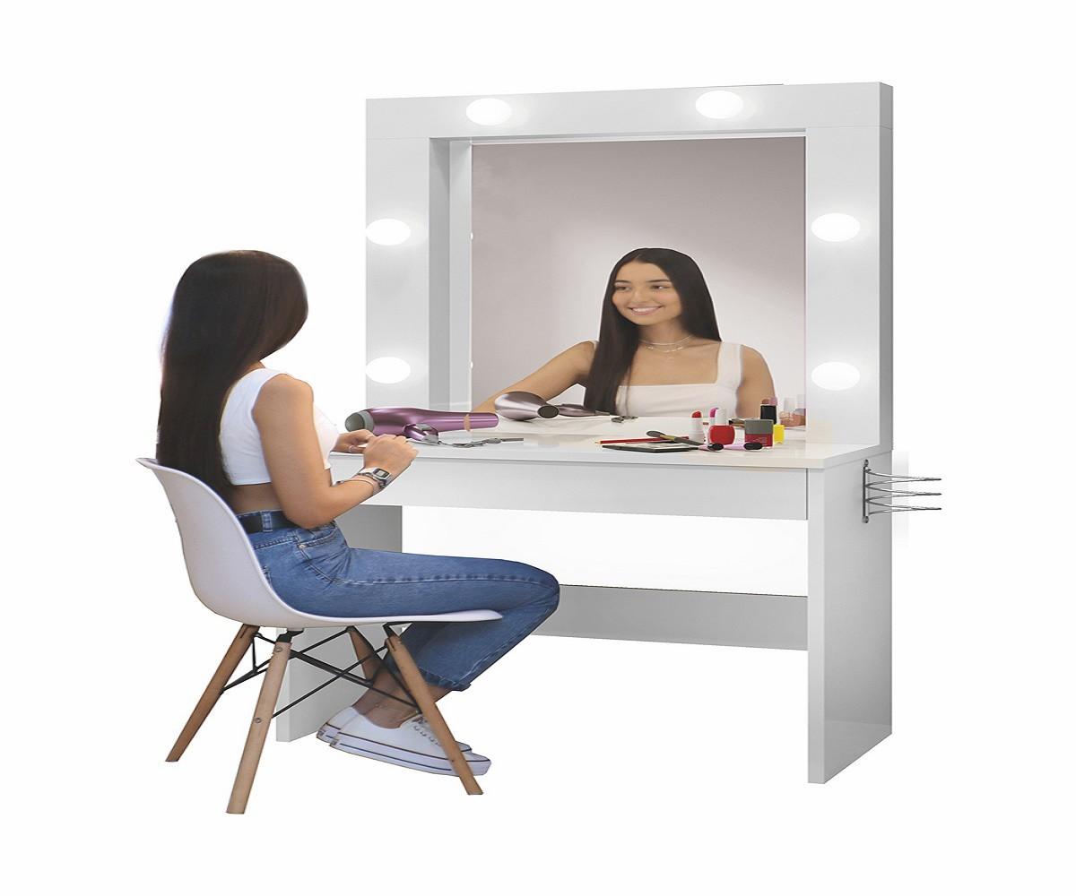Penteadeira Camarim com Espelho Romance Mavaular