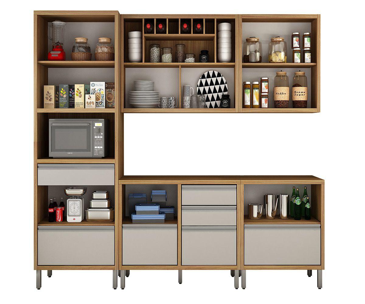 Cozinha Completa 5 Peças 8 Portas Jade CHF