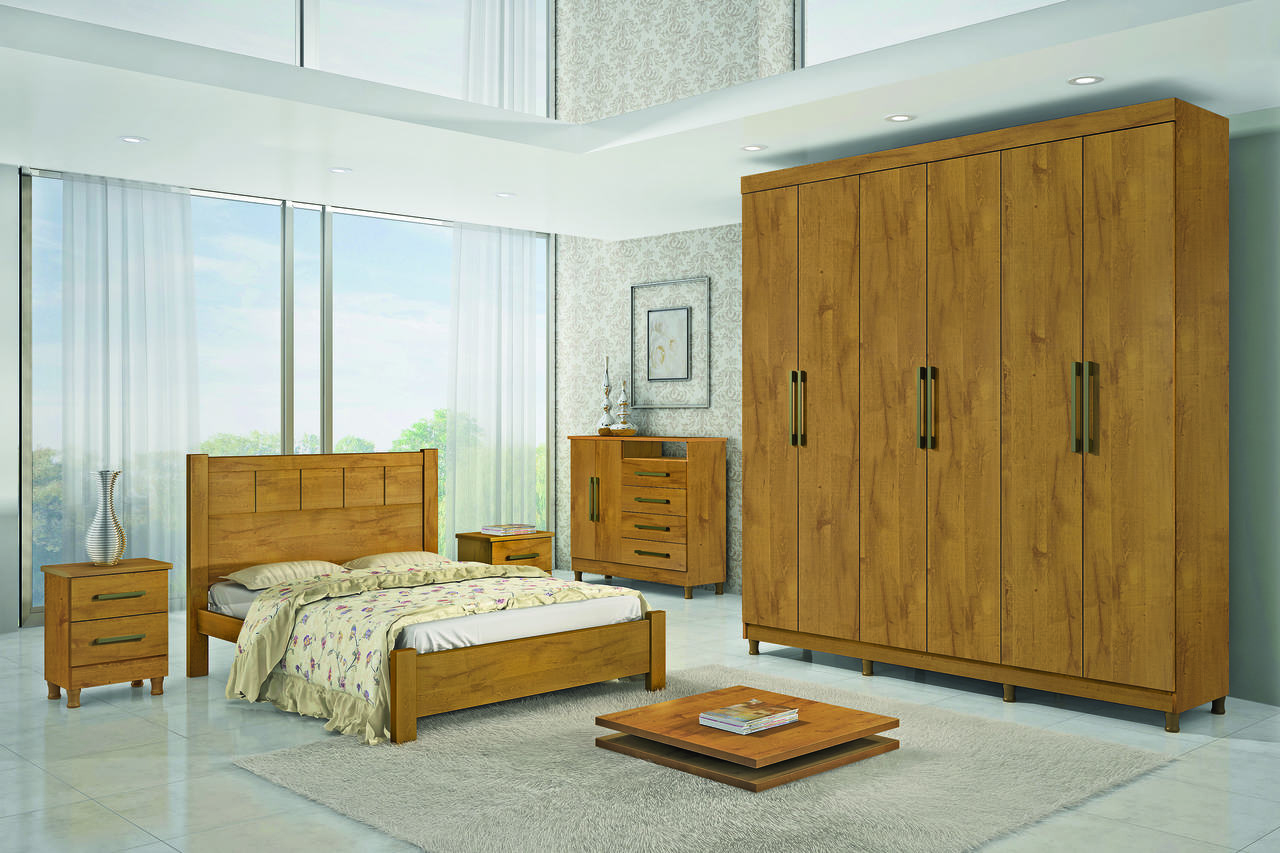 Dormitório Sevilha D Doro Móveis
