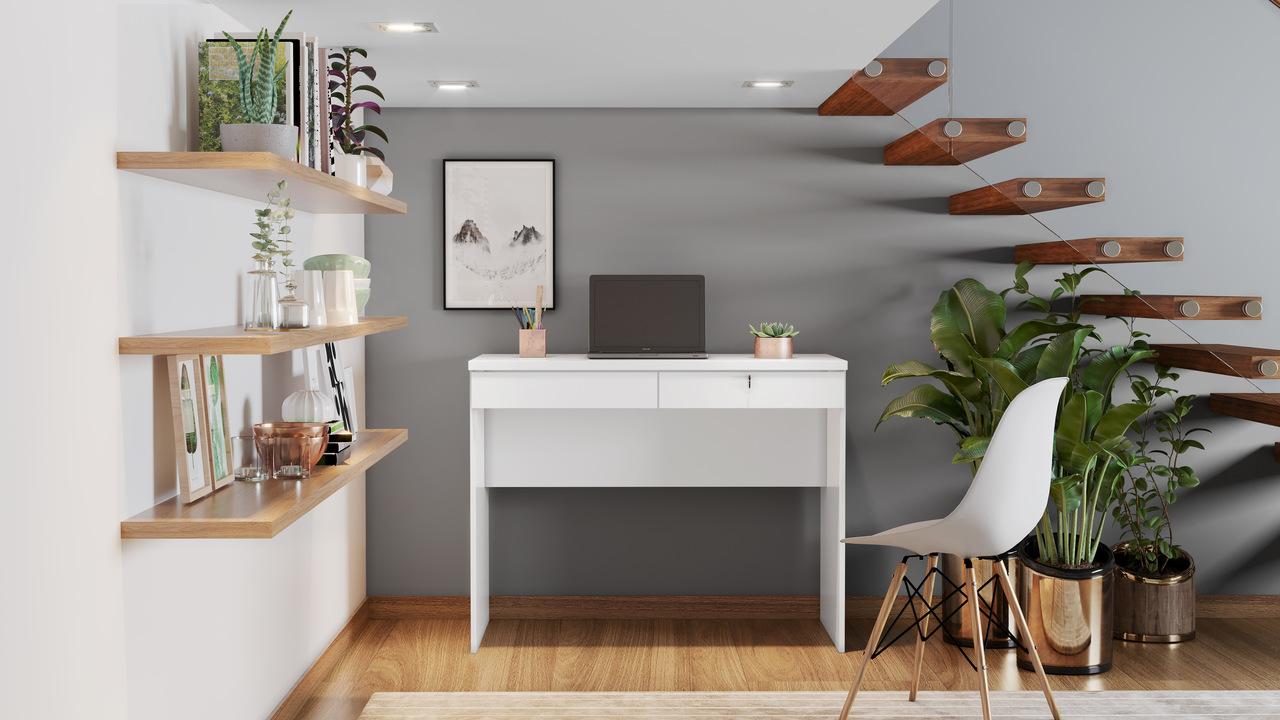 Escrivaninha 2 Gavetas Felicia  JCM Móveis