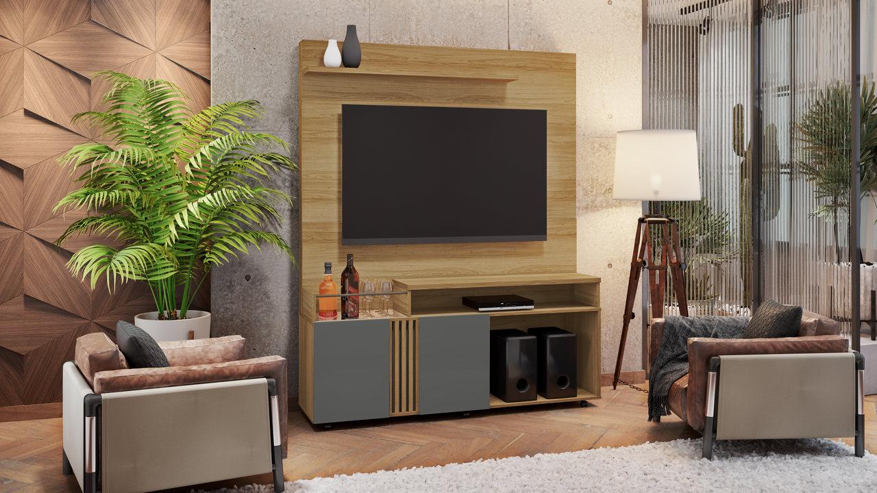 Estante Home para TV até 65 Polegadas Love JCM Móveis