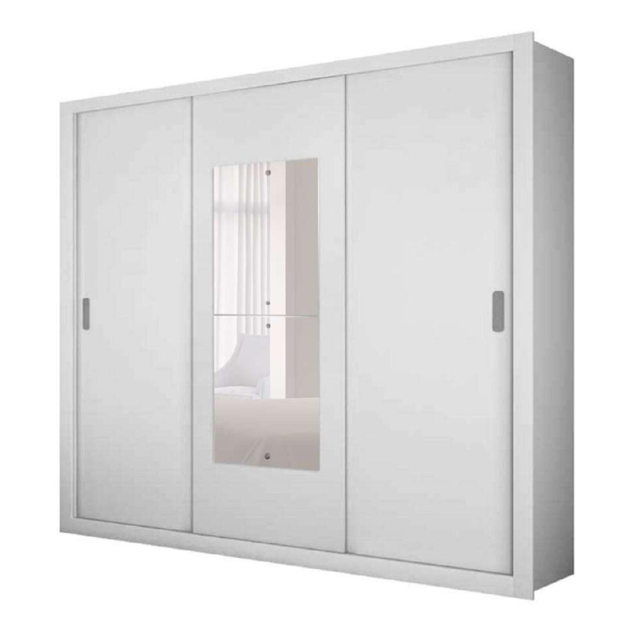 Guarda Roupa Veneza Premium 3  Portas Móveis Rufato