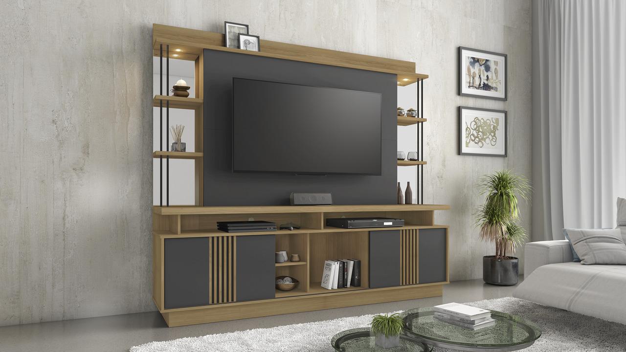 Home Esplendor para TV de até 65 Polegadas Jcm Móveis
