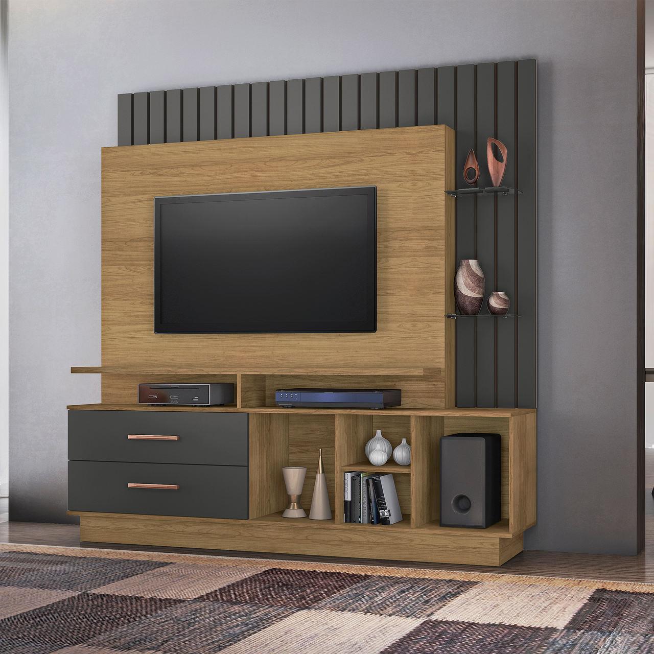 Home Fascínio para TV de até 65 polegadas Jcm Movelaria