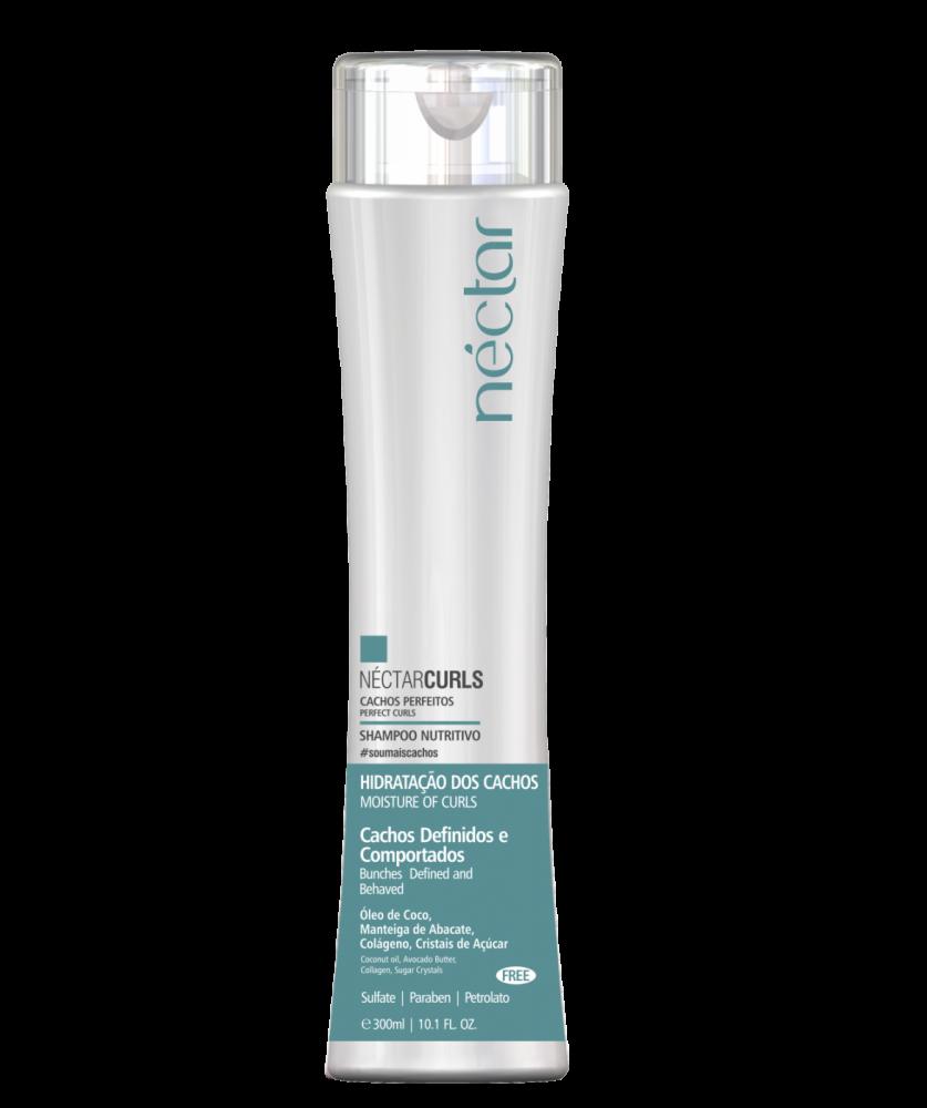 Kit Néctar Curls Shampoo + Mascara Nutritiva  - Para Cachos