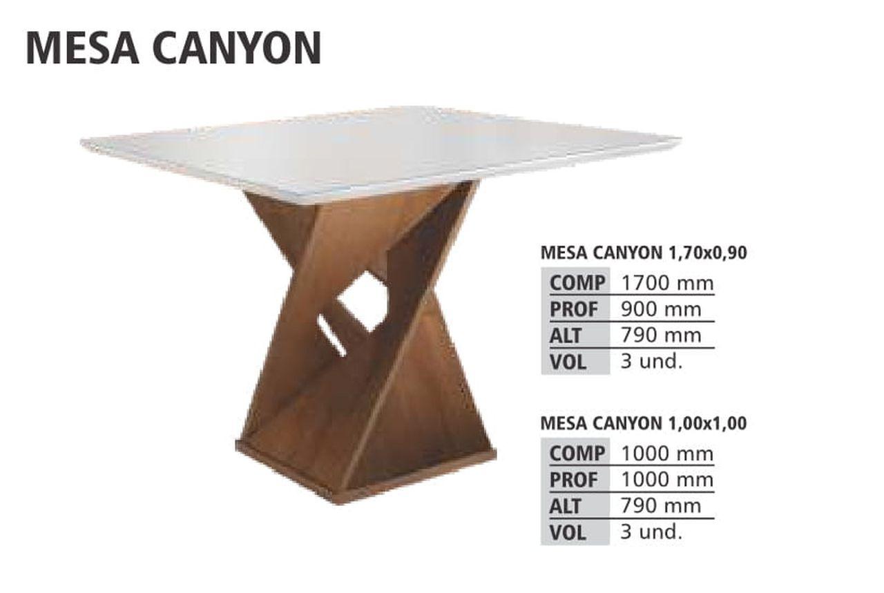 Mesa Canyon  Cel Móveis Tampo Slim