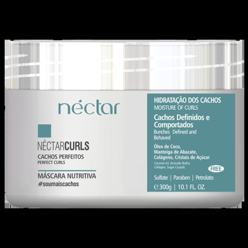 Néctar Curls Mascara Nutritiva - Para Cachos