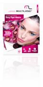 Glossy Paper Adesivo C/220 Gr Tam. A4 C/ 10 Fls Multilaser -