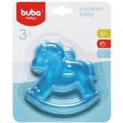 Mordedor Baby Cavalinho Sortido Vermelho e Azul Buba