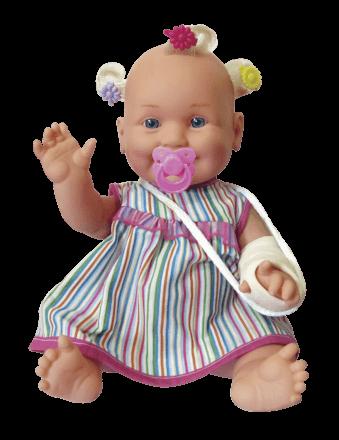 Boneca Tri-li-li Gessinho Branca Zap - 1038