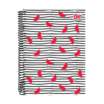 Caderno Tropical 15 Matérias 300 Folhas Dac - 2379