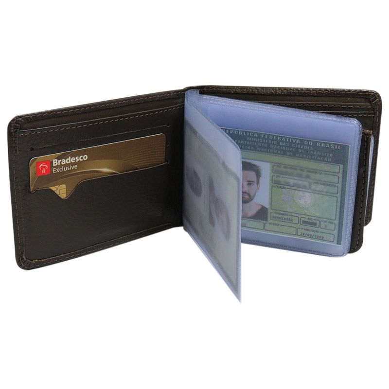 24bf8a53c004d Carteira Masculina Mais Porta Cartões - Compre Certo Online