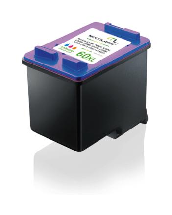 Cartucho Jato Compativel P/ HP Mod 60 Color Multilaser - CO6