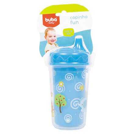 Copinho Fun 250ml - Azul - Buba Toys