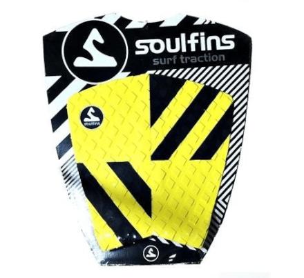 Deck Soul Fins Surfboard Fissure - Amarelo e Preto