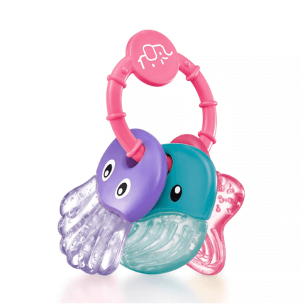 Mordedor Sea Friends Rosa Multikids Baby - BB155