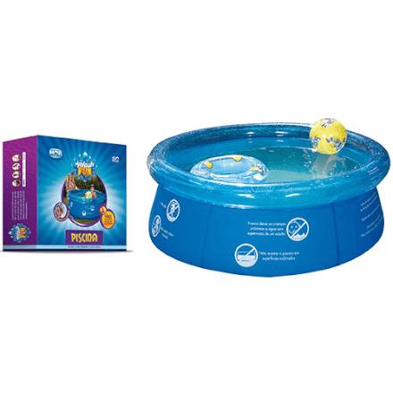 Piscina Splash Fun Ø1,65m x 55cm 1000L Mor - 1048