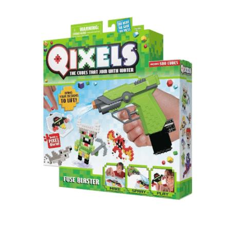 Pixels De Montar Tipo Minecraft Qixel Fuse Blaster 500 - Mul
