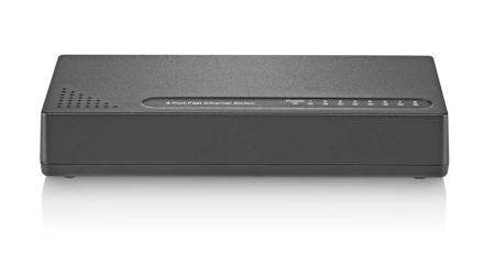 Switch Vlan Fixa 8 Portas Preto Multilaser - RE118