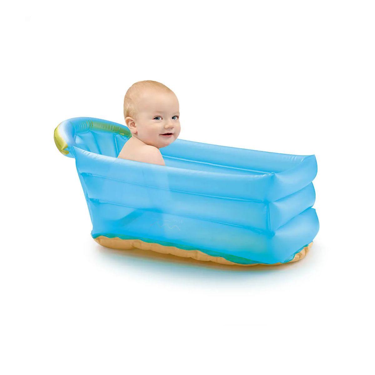 Banheira Inflável Bath Buddy Azul - BB173 - Multikids