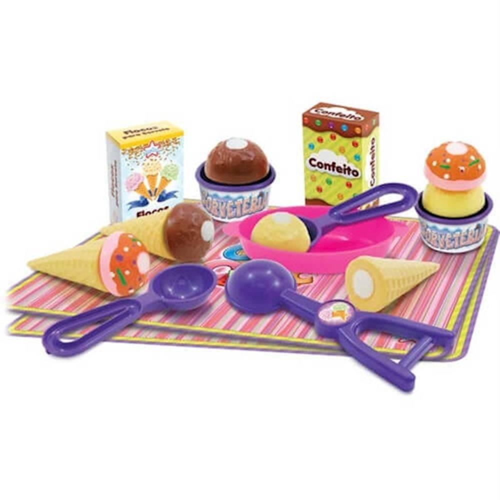 Brinquedo de Comidinha Crec Crec Sorveteria - Big Star