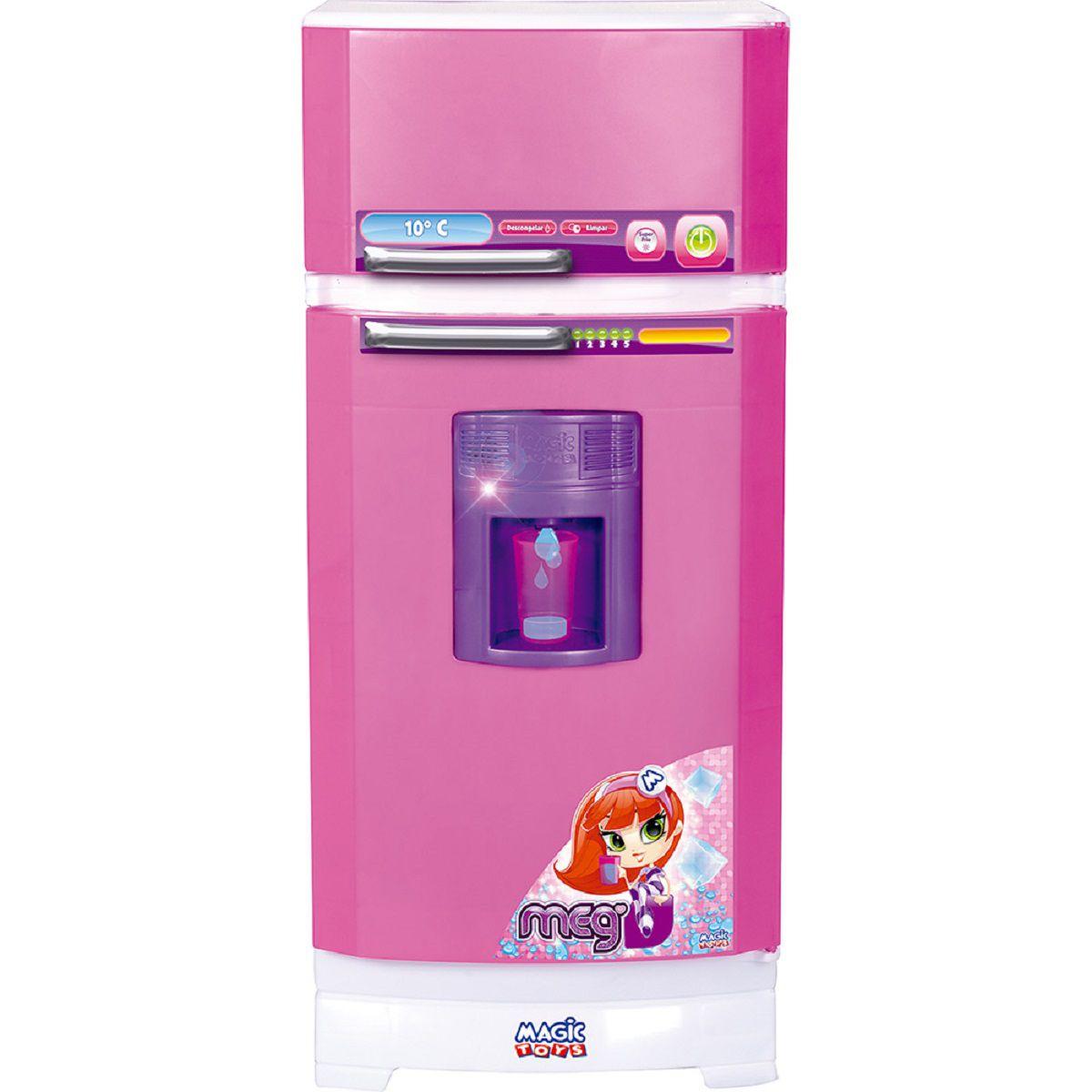 Cozinha Infantil Geladeira Rosa - 8052 - Magic Toys
