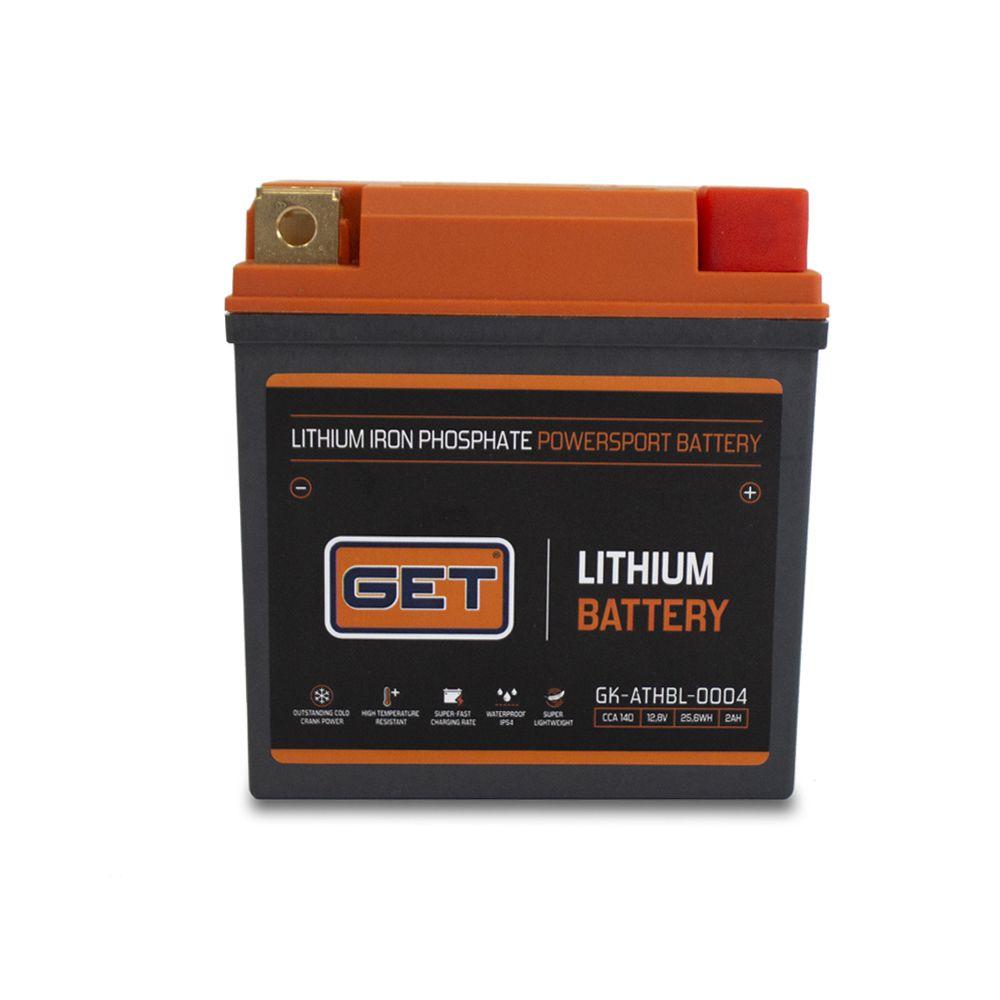 Bateria Lítio - Compatível com CRF 250/450/HSQ FC 250/350/450/KTM SXF 250/350/450