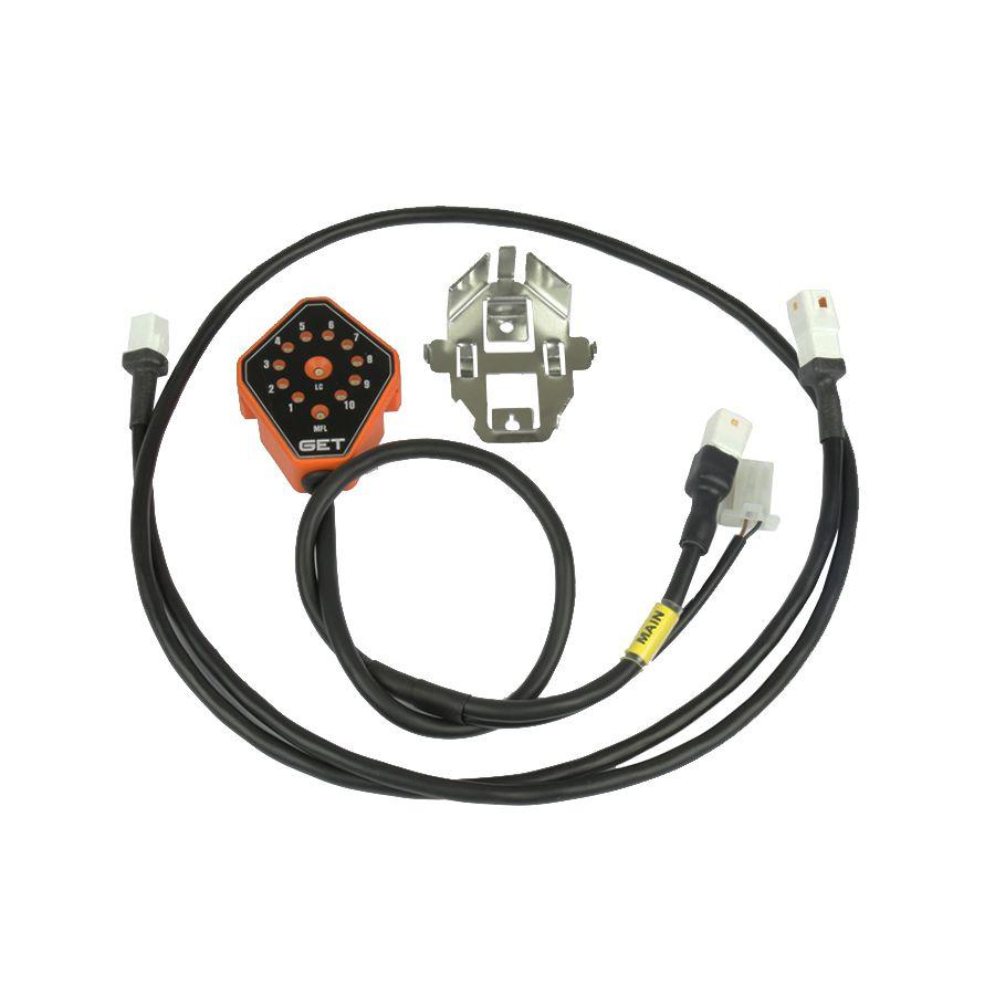 LCGPA (Controle de potência + controle de largada digital) (HDA 250/450 (16-20) / YAM 450 (16-20) / SUZ 250 (16-20)
