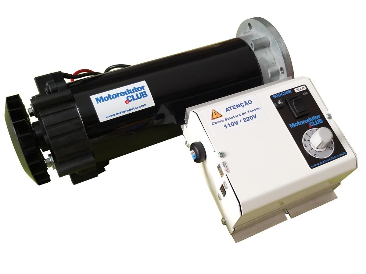 Motoredutor Planetário Motor DC 0,75 CV Regulagem de Velocidade Reversão de Sentido Para Máquinas