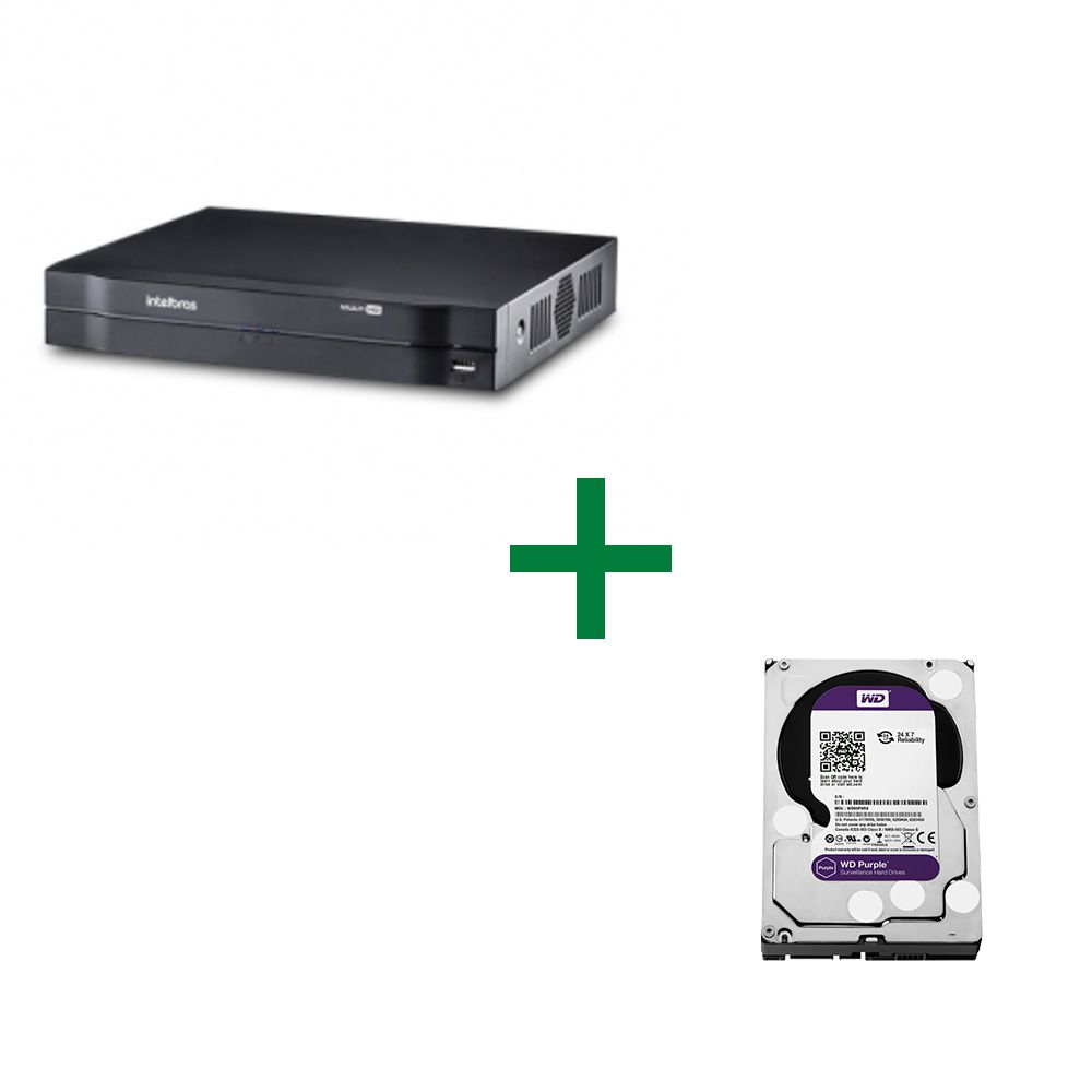 MHDX 1008 Gravador Digital de Vídeo Com HD Purple 1 TB