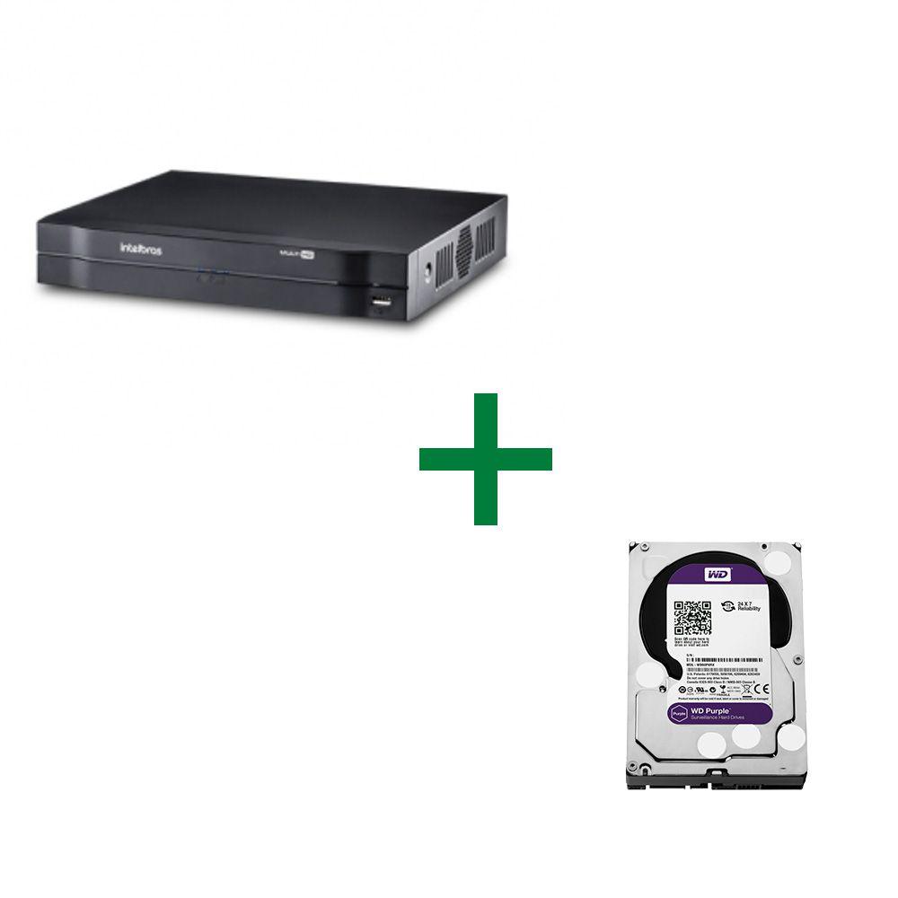 MHDX 1008 Gravador Digital de Vídeo Com HD Purple 3TB