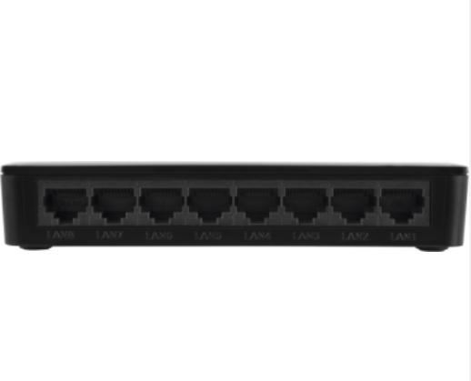SF 800 VLAN Switch 8 portas Fast Ethernet com VLAN Fixa