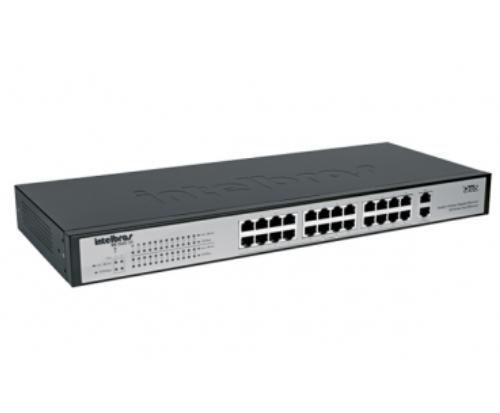 SG 2620 QR Switch 24 portas Fast Ethernet + 2 portas Gigabit Ethernet