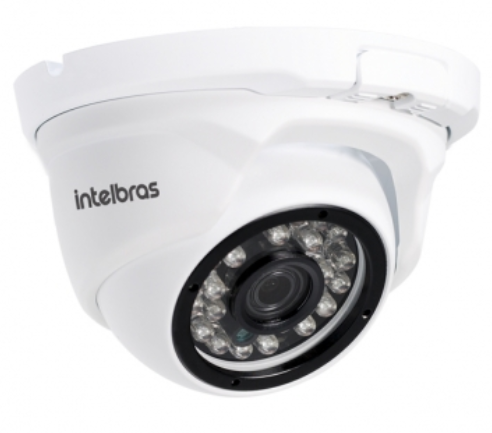 VIP 1120 D Câmera IP dome 1 MP LENTE 2,8MM