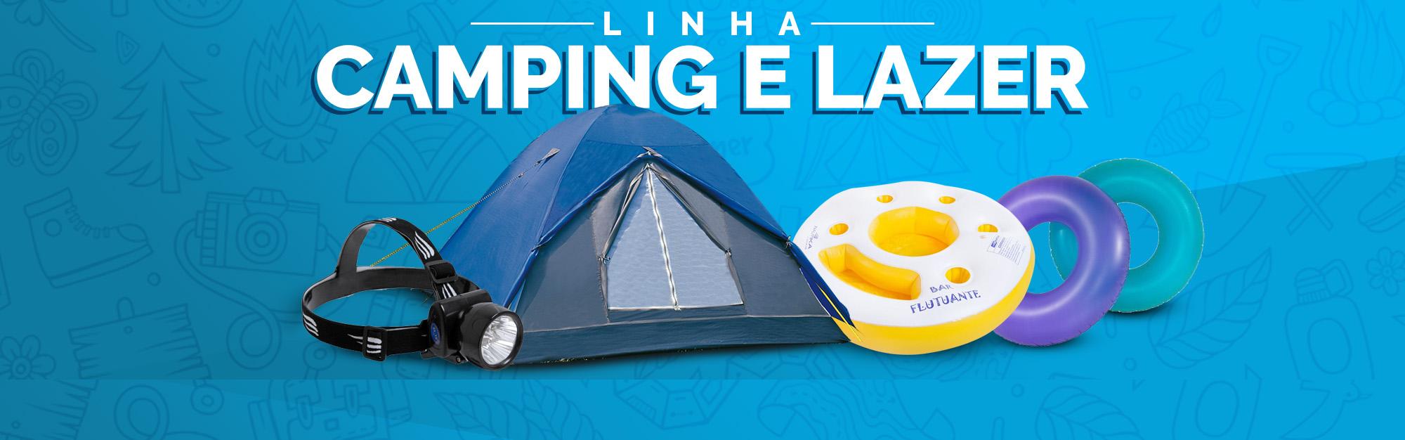 Linha Camping e Lazer